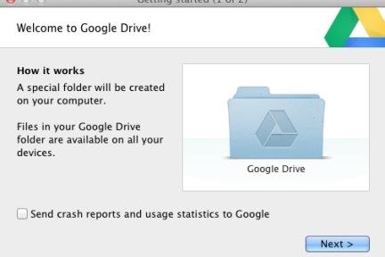 Google Drive实体体验