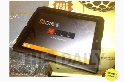 微软即将发布 iPad 版 Office