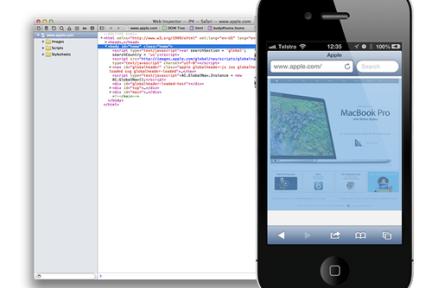 iOS 6中Safari支持远程调试和文件上传功能