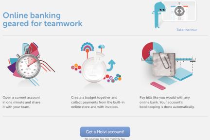 你需要的不仅仅是银行:金融技术初创企业Holvi打算颠覆传统银行账号