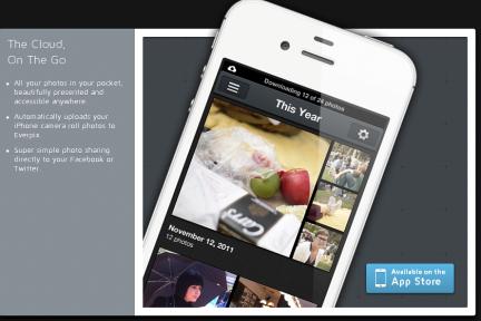 免费照片汇集服务Everpix新推出iPhone应用,自动把手机里的所有照片上传到云端服务器