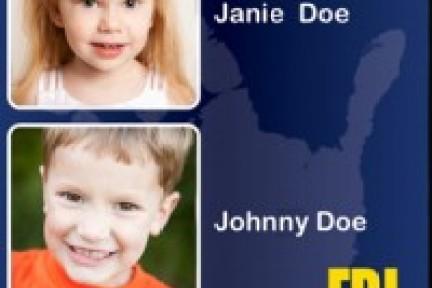 FBI首个应用程序帮助家长报告丢失儿童