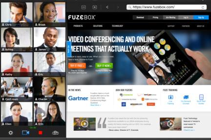移动视频会议应用FuzeBox新添5万企业用户,iPad版最高允许12人同时在线