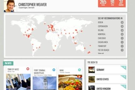 Everplaces:收藏现实世界各种地方的Pinterest