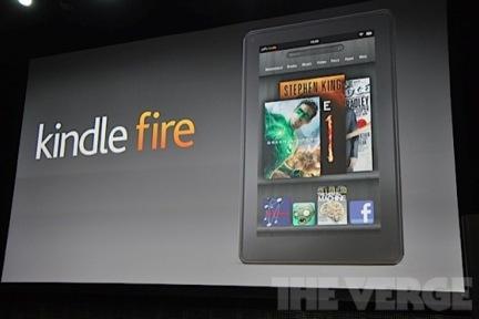 杰夫贝索斯确认Kindle Fire,宣布更多配置信息,以及多张图片欣赏