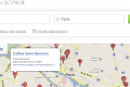 签到游戏公司SCVNGR借助Google Places API开展国际业务