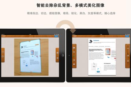 """手机版本用户累计超4000万,""""扫描全能王""""推出iPad版本"""
