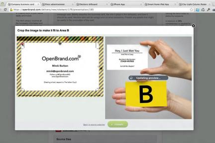 做设计领域的BaseCamp,品牌管理公司OpenBrand转型为设计作品协作分享平台