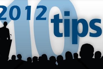 2012年给创业者的10点建议