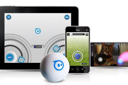 【视频】酷玩具Sphero:智能手机控制的智能小球