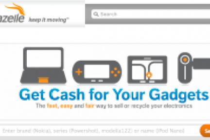 电子产品回收返卖网站Gazelle获得2200万美元巨额融资