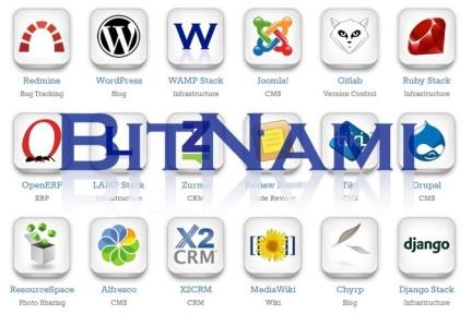 BitNami:做开源服务器软件的应用商店,web应用的部署安装几分钟即可搞掂