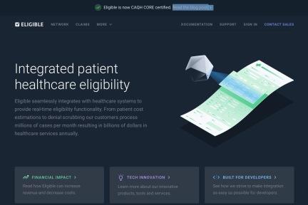 建立医疗保险账单的在线查询系统,Eligible的开源模式能否快速抢占全球市场