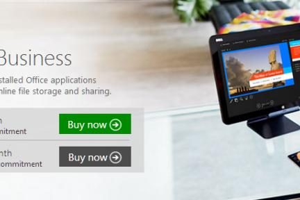 微软为中小企业新增三种 Office 365 订阅方案