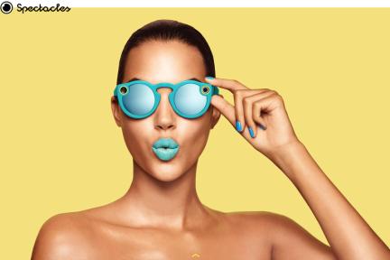 Snapchat更名为Snap Inc,发布Spectacles智能眼镜积极布局AR产业