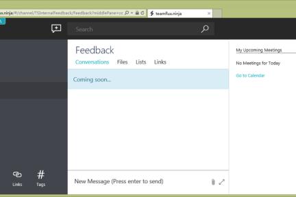 除了 Fleep,微软还有自己的 Slack 计划,它叫 Teamspace