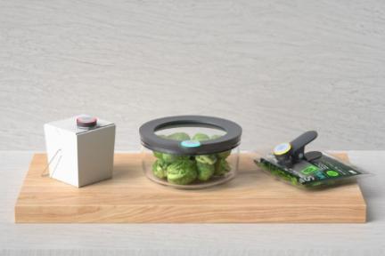 担心食品放过期?「Ovie」用智能标签提醒你及时食用