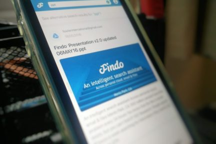 """硅谷智能信息检索公司 Findo 获 300 万美元 A 轮融资,旨在解决""""信息肥胖症""""问题"""