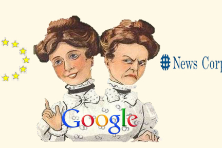 Google以为要了结四年的欧盟反垄断案,新闻集团跳出来说不行