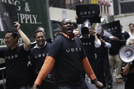 Uber 正挣扎的司机身份问题,是共享经济们的必答题