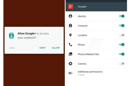 Android M 将增应用权限管理特性