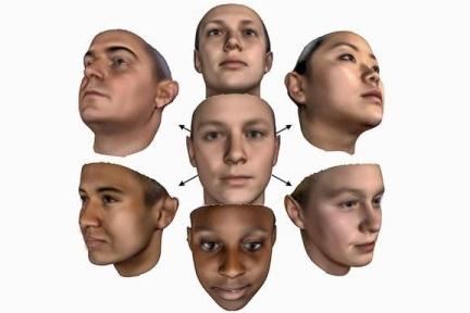 迄今最精准人脸数字模型,任意 2D 照片转换逼真3维人脸