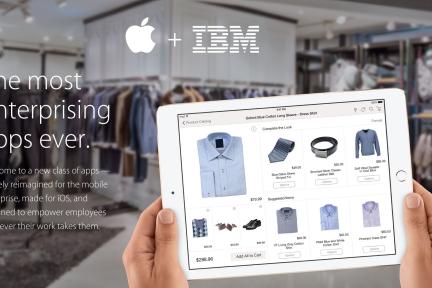 苹果IBM联姻新动向:推出8款企业应用,覆盖医疗、零售、保险等领域