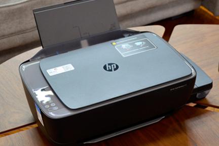 8000彩页无线畅打!惠普连供家族推出新款打印机