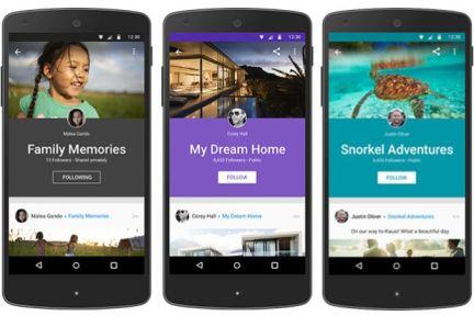 Google+推出Collections,Pinterest式的图片视频收藏集