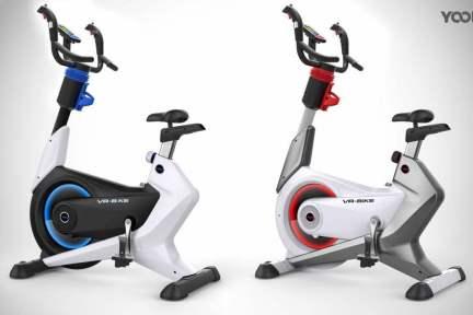 """青岛宇科将""""动感单车""""VR化,VR+健身可能是比体验店更自然的下线模式"""