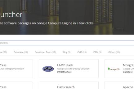 Google Cloud 推出一键部署应用功能