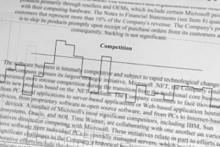 微软30年发展历程,都藏在竞争对手的名单里