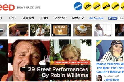 "BuzzFeed到底是个""玩具""还是个有科技含量的传媒公司?"