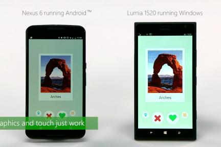 """能让 Windows 10 运行 Android 应用的 """"Project Astoria"""" 是这么回事"""