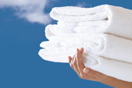 在床单中植入芯片并能租着用,「蓝天清科」推出公用纺织品租洗平台
