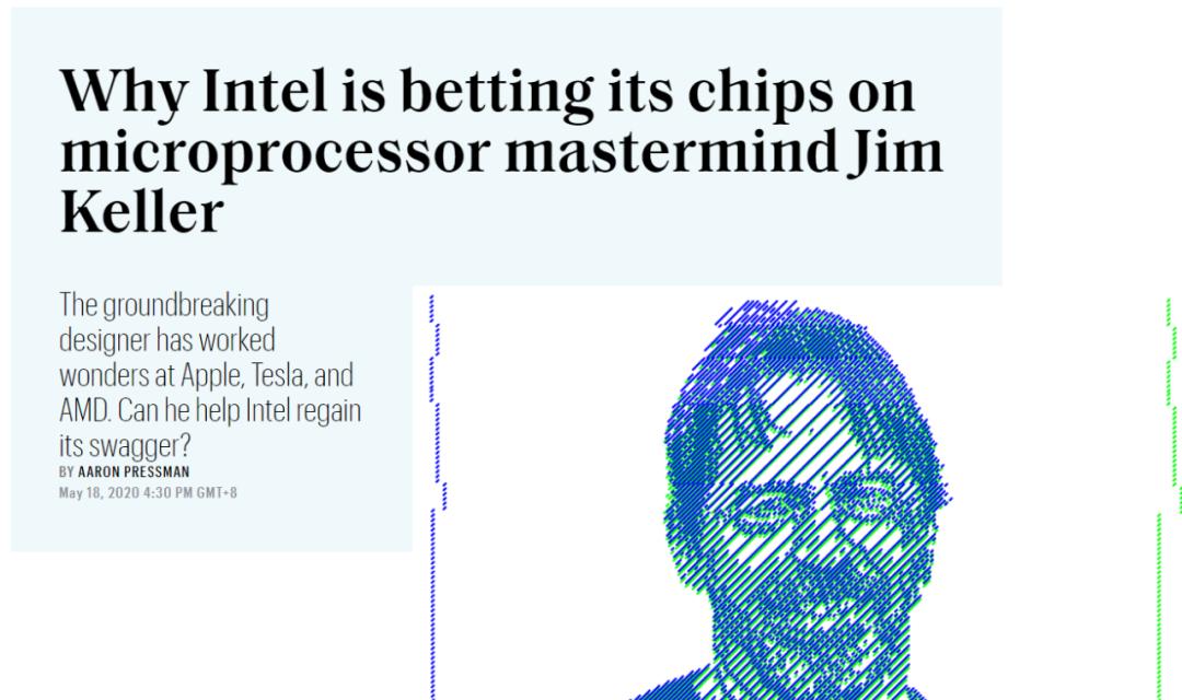 """""""硅仙人""""离开英特尔:芯片总设计师吉姆·凯勒突然辞职,曾带领AMD、苹果逆袭 (/) 科技 第4张"""