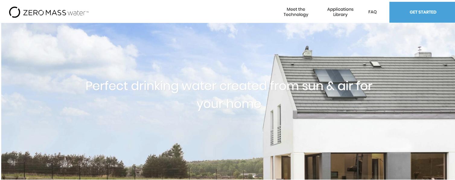 饮用水能成为可再生资源?「Zero Mass Water」获 5000 万美元融资