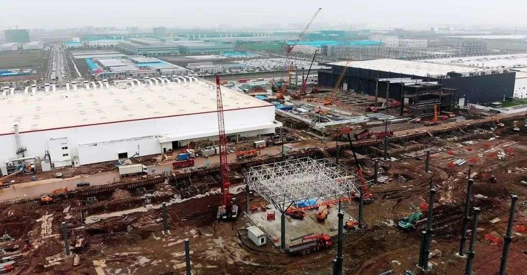 特斯拉上海工厂二期 来源:Teslarati