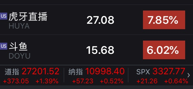 """斗鱼、虎牙、企鹅电竞""""三合一""""?两大巨头股票大涨,腾讯或成大赢家"""