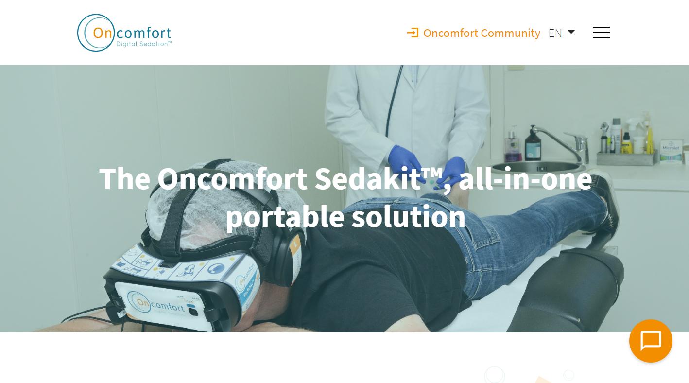 无需吃镇静剂就可以缓解疼痛?比利时 V R医疗公司「Oncomfort」获 1200…