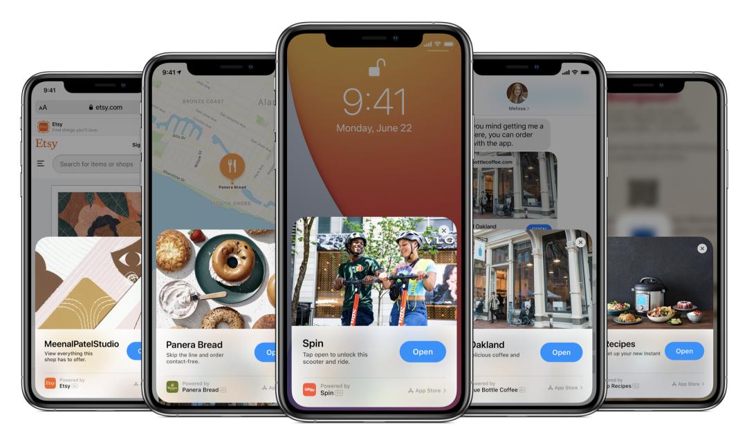 苹果 App Clips 体验:首批上线的「苹果小程序」怎么用?好用吗?