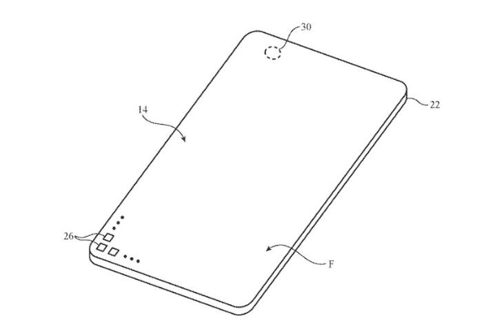 苹果新专利公布,无刘海的iPhone快了