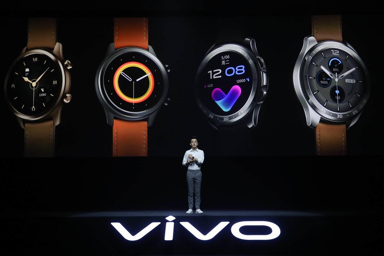 最前线丨vivo发布首款智能手表,拥挤的赛道又新添一玩家