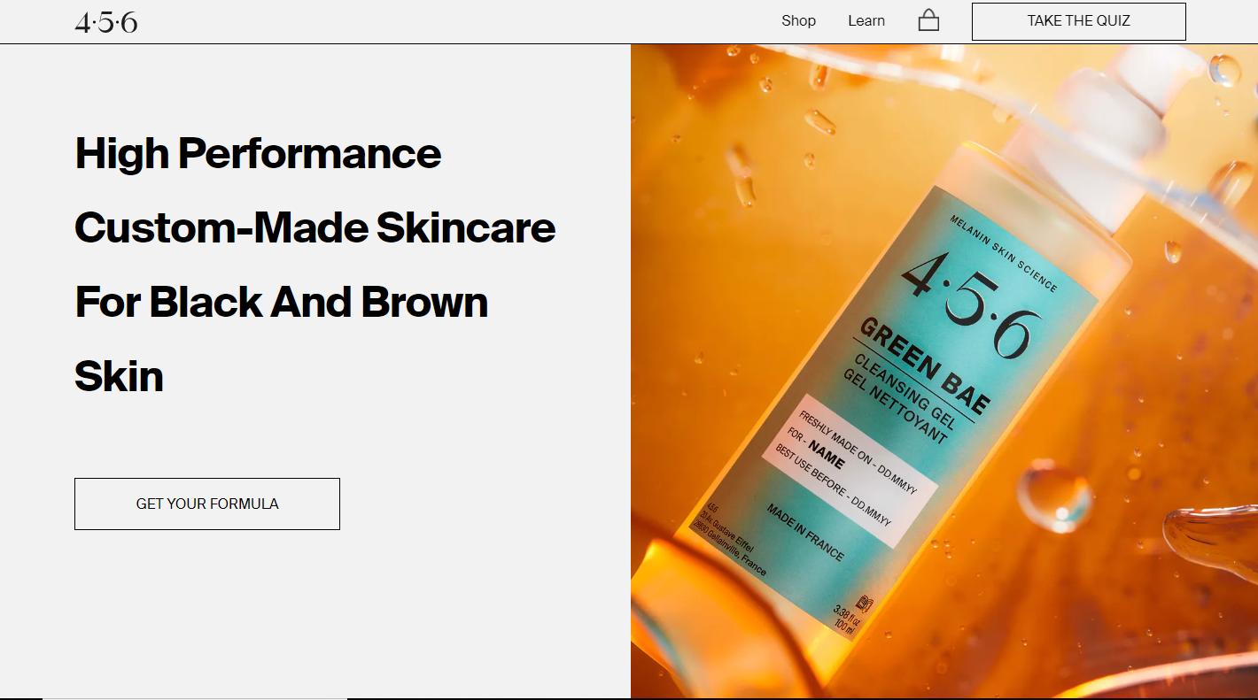 护肤品再细分,为富含黑色素人群设计,「4.5.6 Skin」获 82 万美元种子轮融…