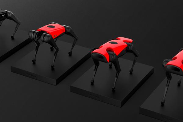 推出智能四足机器人AlphaDog,「蔚蓝智能」要打造通用移动平台