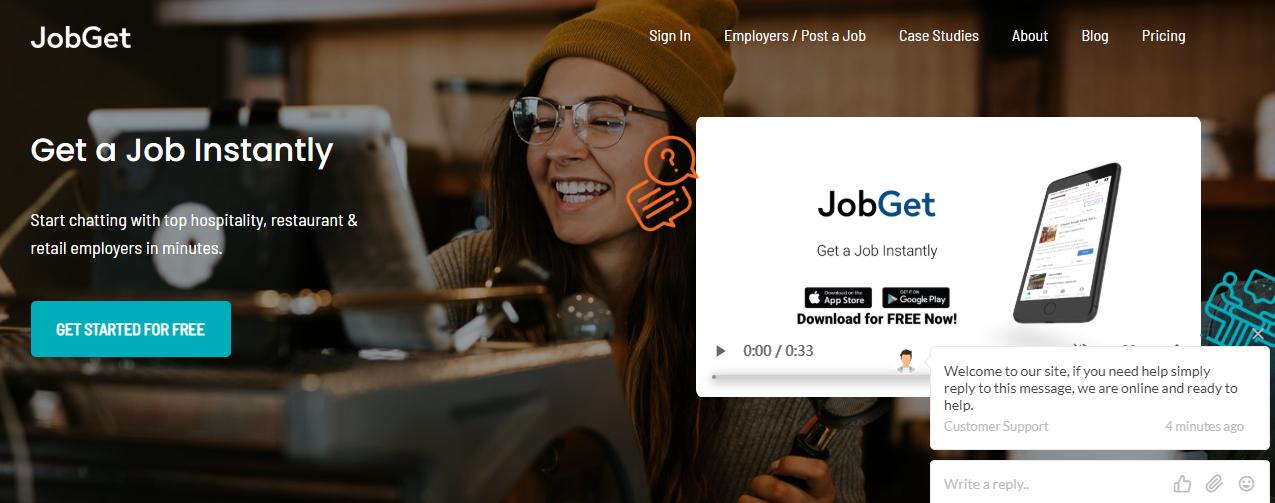 为小时工提供求职平台,「JobGet」获 210 万美元种子轮融资