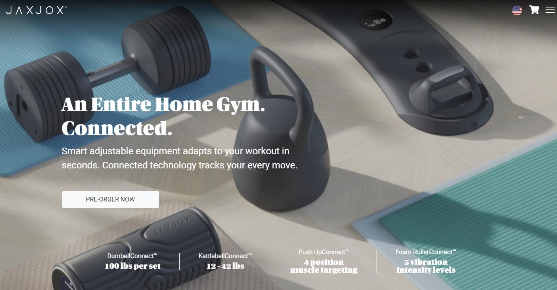 推出价值 2199 美元的互联家庭健身房,「JAXJOX」获 1000 万美元 A …
