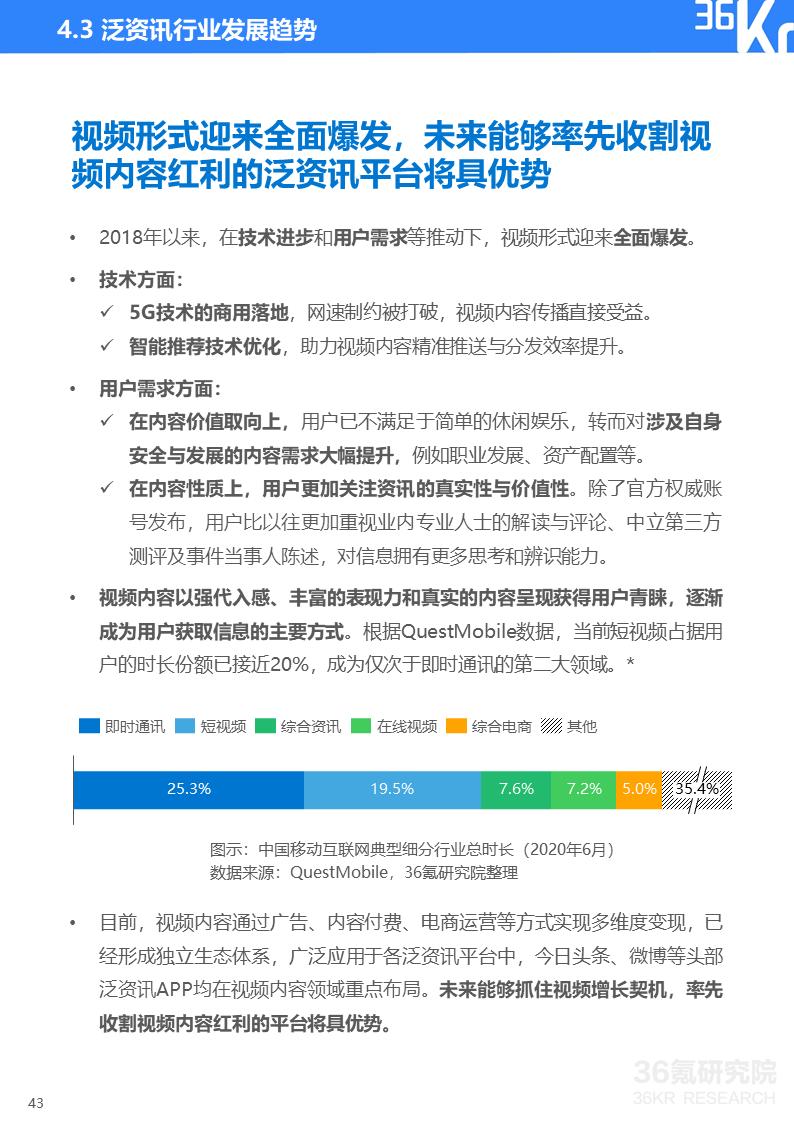 2020年中国泛资讯行业研究报告插图43