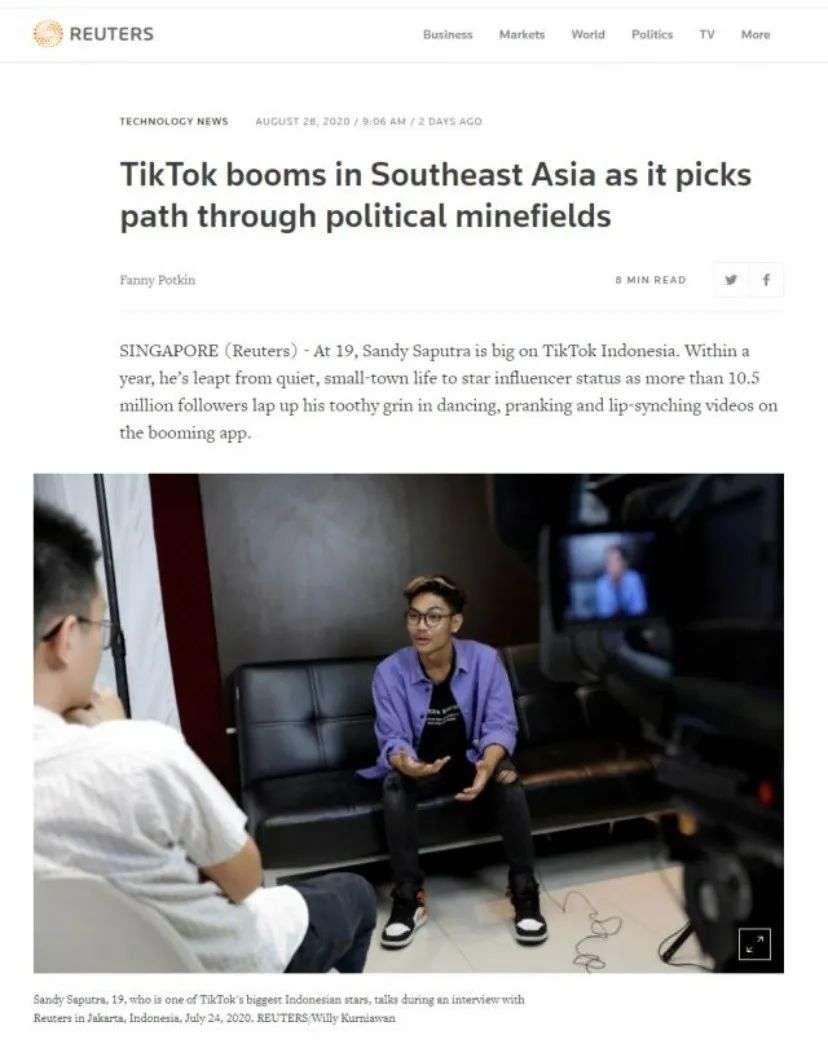 Facebook再战字节跳动,东南亚短视频之争鹿死谁手?