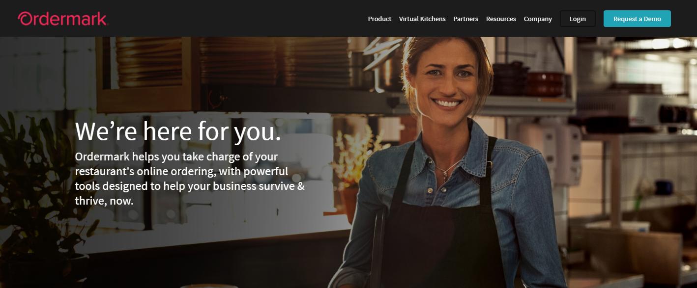 为餐厅提供订单支付和管理平台